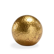 Chelsea House Home Hammered Ball - Gold (Sm)