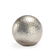 Chelsea House Home Hammered Ball - Silver (Sm)