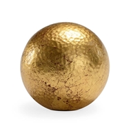 Chelsea House Home Hammered Ball - Gold (Med)