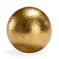 Chelsea House Home Hammered Ball - Gold (Lg)