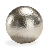 Chelsea House Home Hammered Ball - Silver (Lg)