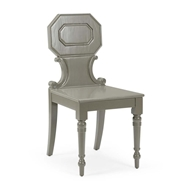 Chelsea House Home Hall Chair - Gray 383065