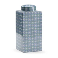 Chelsea House Home Gordon Plaid Vase