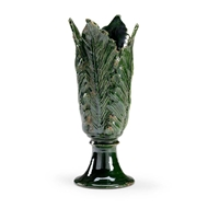 Chelsea House Home Leaf Vase - Green