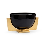 Chelsea House Home Lander Bowl-Black