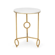 Chelsea House Home Yonkers Side Table - Marble
