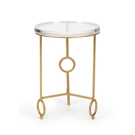Chelsea House Home Yonkers Side Table - Acrylic 383178