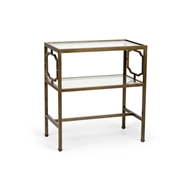 Chelsea House Home French Side Table - Bronze