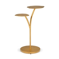 Chelsea House Home Leaf Side Table - Gold 383183