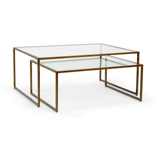 Bronze Nesting Coffee Tables: Chelsea House Home Nesting Coffee Table