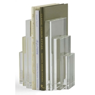 Chelsea House Home Crystal Bookend-Pr 383193