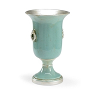 Chelsea House Home Ring Vase-Silver