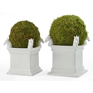 Chelsea House Home Square Horse Stacking Planter