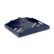 Chelsea House Home Miles River Tray-Navy