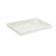 Chelsea House Home Tidewater Tray-White 383247