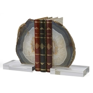 Chelsea House Home Geode Bookends 383274