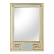Chelsea House Wall Decor Greek Hall Mirror-Green 383293