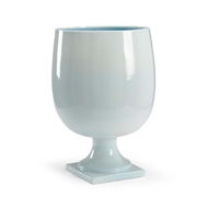 Chelsea House Home Lancaster Vase-Blue
