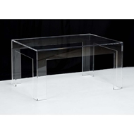 Chelsea House Home Acrylic Coffee Table