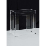Chelsea House Home Acrylic End Table