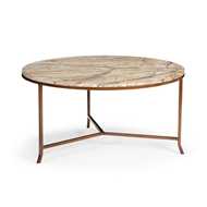 Chelsea House Home Round Harvey Cocktail Table