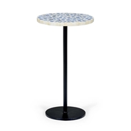 Chelsea House Home Blue Bubble Side Table
