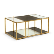 Chelsea House Home Directoire Coffee Table - Black
