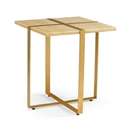 Chelsea House Home Banded Accent Table