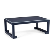 Chelsea House Home Chow Cocktail Table - Navy 383402