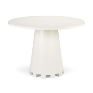 Chelsea House Home Loftin Breakfast Table- Cream
