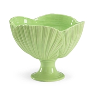 Chelsea House Home Palm Leaf Bowl - Green