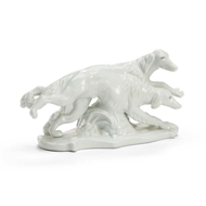 Chelsea House Home Greyhounds - White