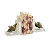Chelsea House Home Shell Bookends