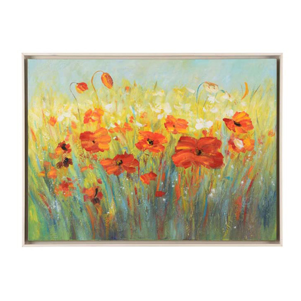 Chelsea House Wall Decor Poppies In Field 383477 | Free Shipping w ...