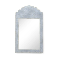 Chelsea House Wall Decor Crown Mirror - Blue 383487