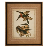 Chelsea House Wall Decor Vintage Kingfishers IV