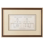 Chelsea House Wall Decor Measured Drawing Elevations 386591