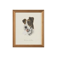 Chelsea House Wall Decor Wire-Haired Fox Terrier 386648