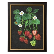 Chelsea House Wall Decor Strawberry Study II