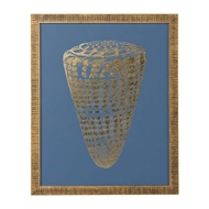 Chelsea House Wall Decor Gold Foil Shell I 386808