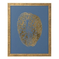Chelsea House Wall Decor Gold Foil Shell II 386809