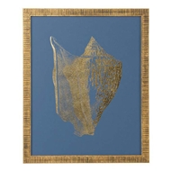 Chelsea House Wall Decor Gold Foil Shell III 386810