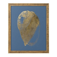 Chelsea House Wall Decor Gold Foil Shell Iv 386811