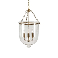 Chelsea House Lighting Pendant With Glass Decor