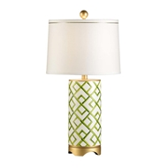 Chelsea House Lighting Bamboo Squares Lamp 68562