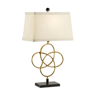 Chelsea House Lighting Loose Knot Lamp - Gold
