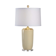 Chelsea House Lighting Large Beige Vase Lamp