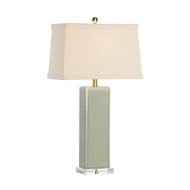 Chelsea House Lighting Becker Vase Lamp - Green 68816