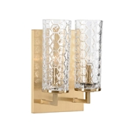 Chelsea House Lighting Casey Double Sconce - Brass 69121