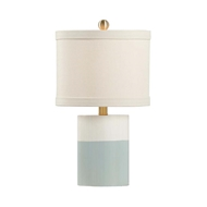 Chelsea House Lighting Banded Lamps Cream 69199